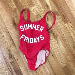 J. Crew SUMMER FRIDAYS One Piece